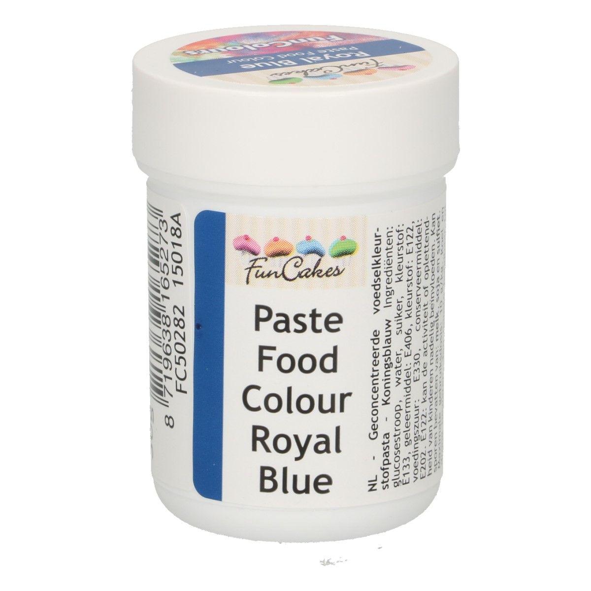 Colorant alimentaire en gel 30 g – Bleu royal
