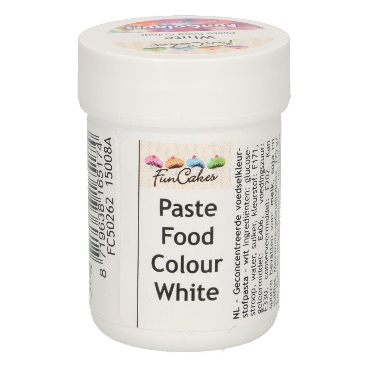 Colorant alimentaire en gel 30 g – Blanc