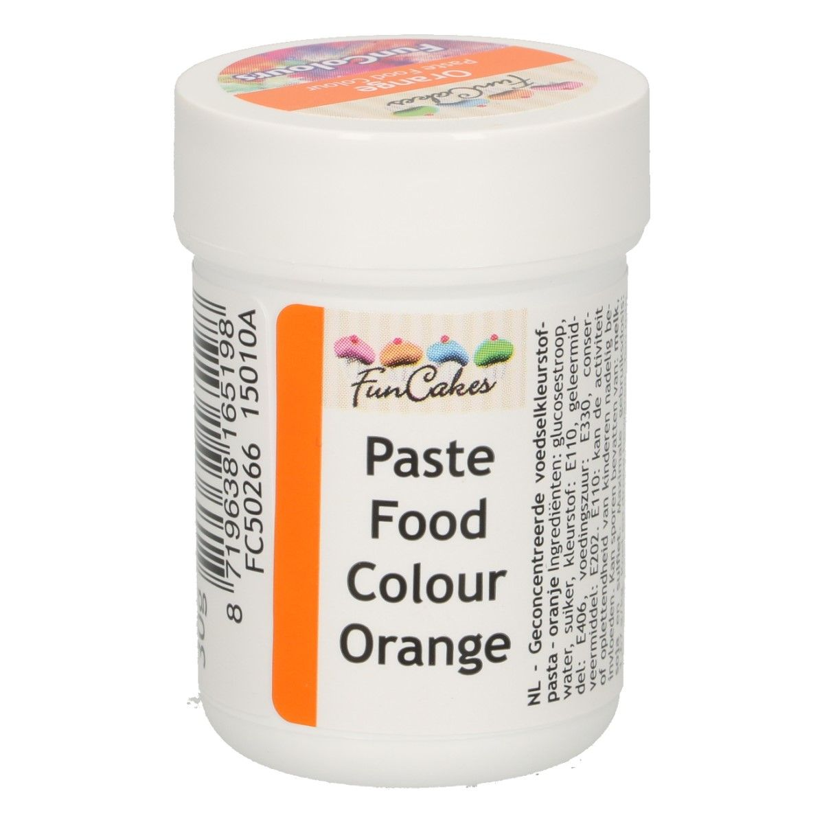Colorant alimentaire en gel 30 g – Orange