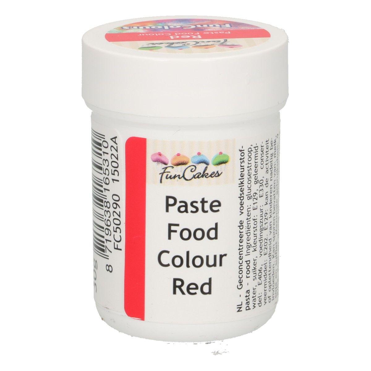 Colorant alimentaire en gel 30 g – Rouge