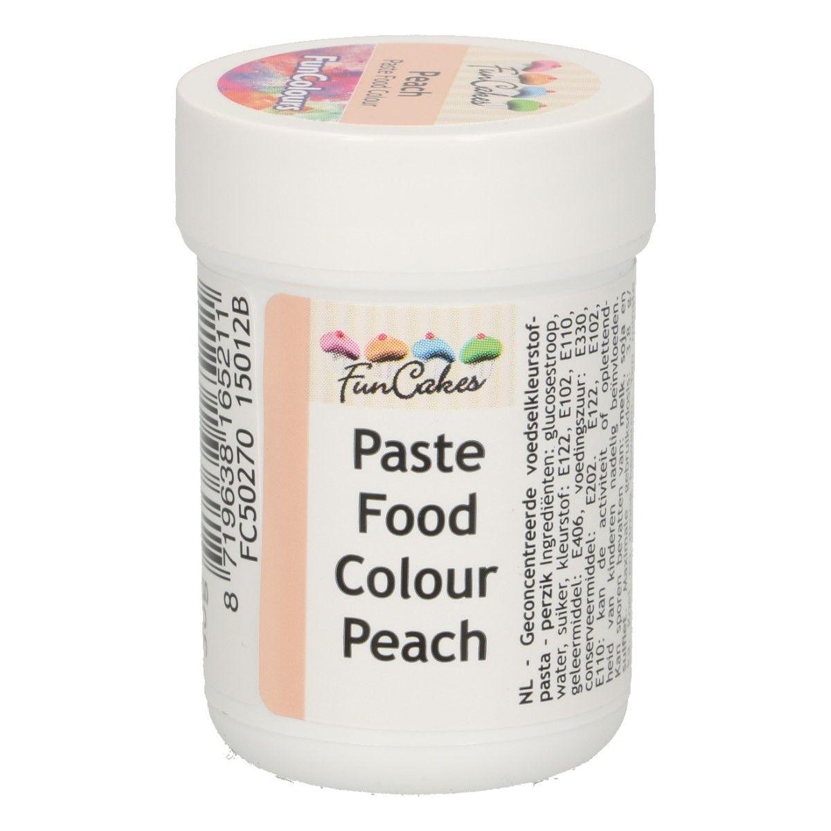 Colorant alimentaire en gel 30 g – Pêche