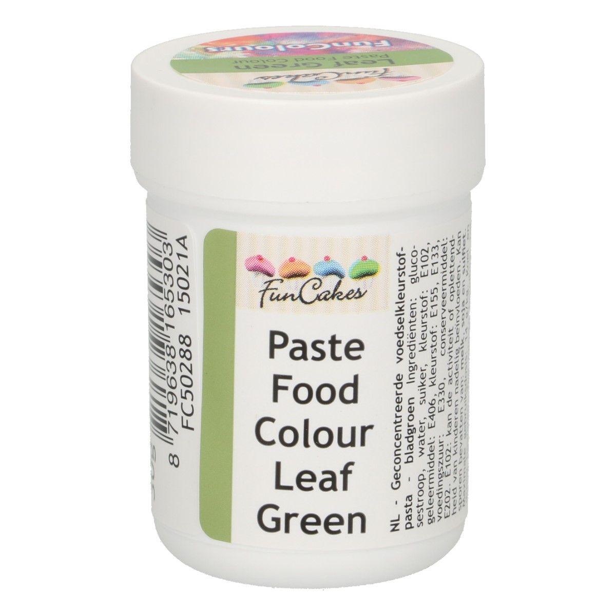 Colorant alimentaire en gel 30 g – Vert feuille