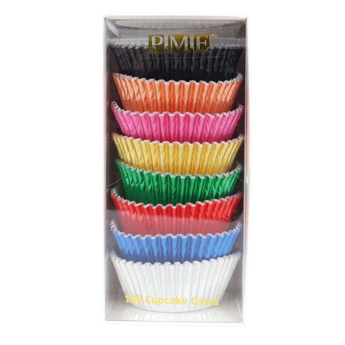 Caissettes à Cupcake - Couleur Métallique - Lot de 100
