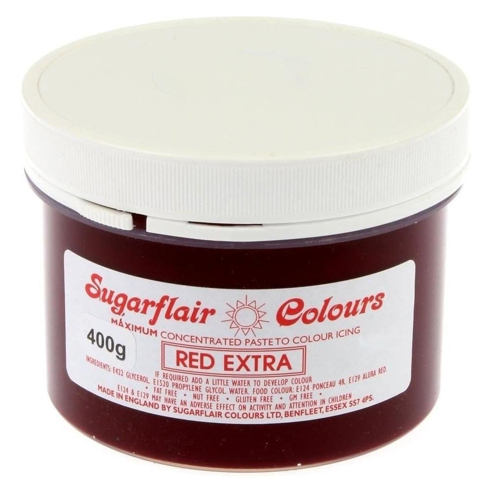 Colorant alimentaire en gel 400 g - Extra Rouge