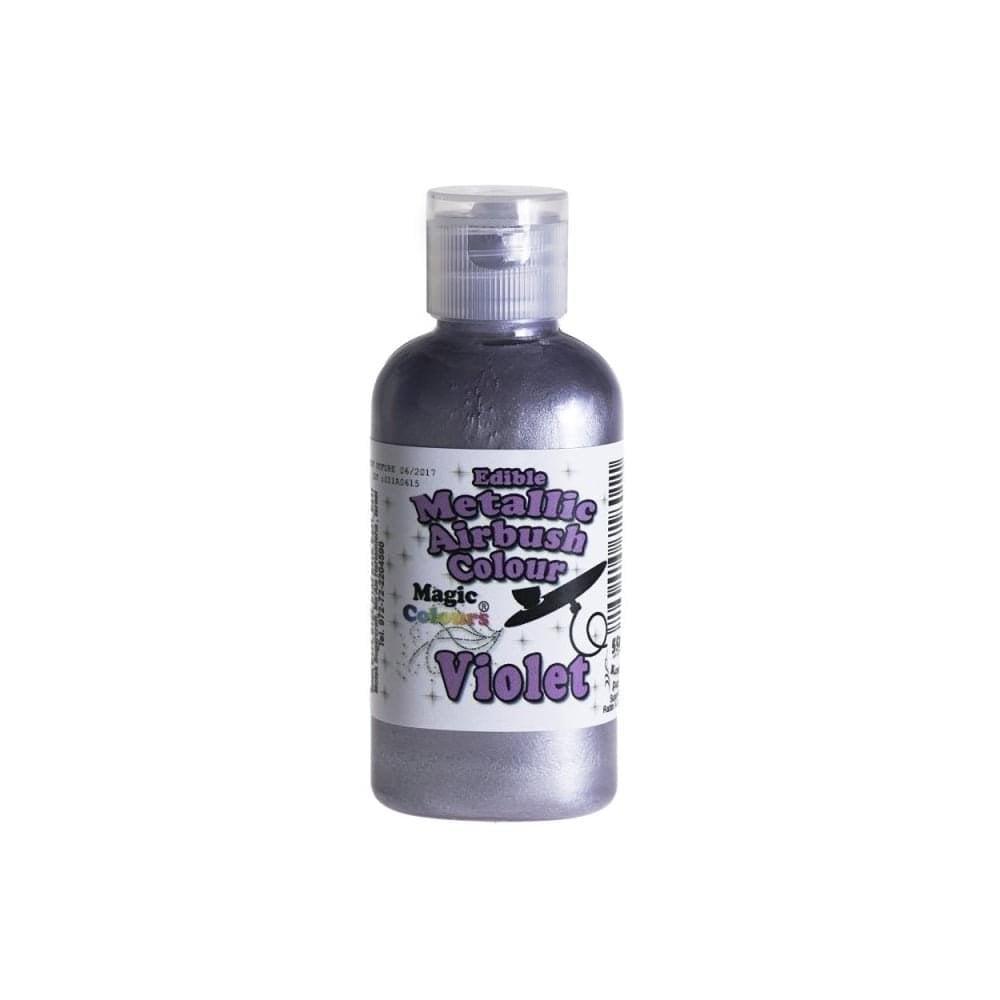 Colorant d\'Aérographe 55 ml métallique - Violet