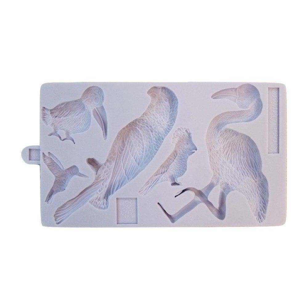 Moule à modelage – Oiseaux
