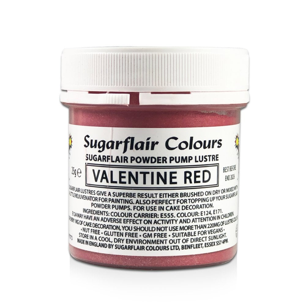 Colorant Alimentaire en Poudre   - Valentine  red