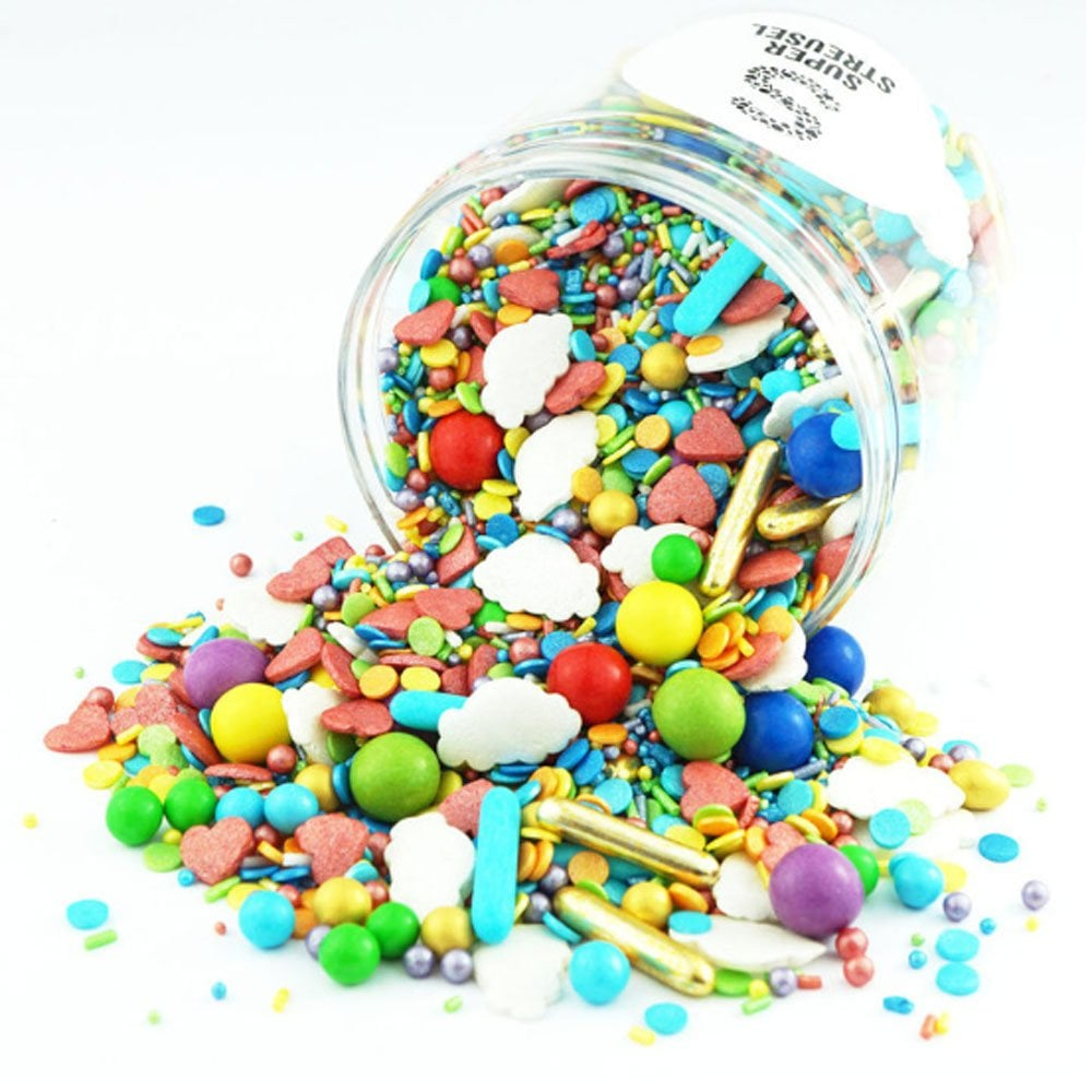 Mix de Sprinkles  Chocoloate Ball 90 g - Over The Rainbow
