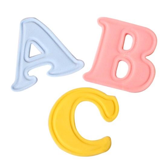 26 Mini emportes pièces à poussoirs - Lettres majuscules