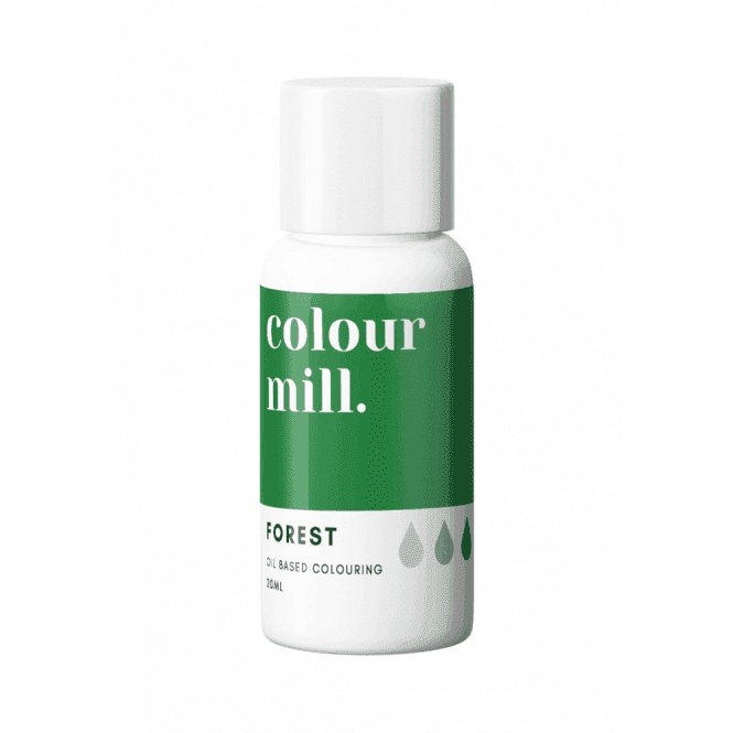 Colorant alimentaire Colour Mill 20 ml - Vert Forest