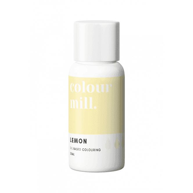 Colorant alimentaire Colour Mill 20 ml - Jaune Lemon