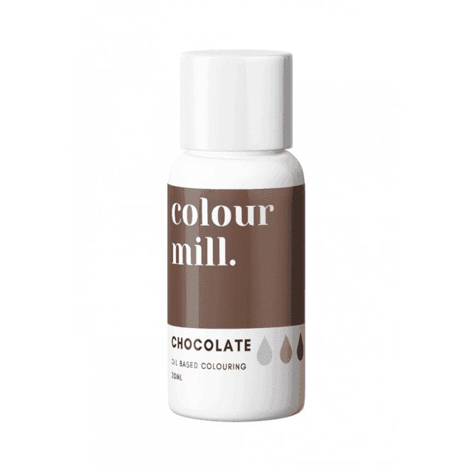 Colorant alimentaire Colour Mill 20 ml - Marron Chocolat