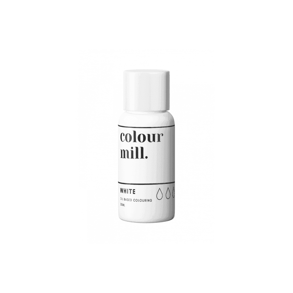 Colorant alimentaire Colour Mill 20 ml - Blanc