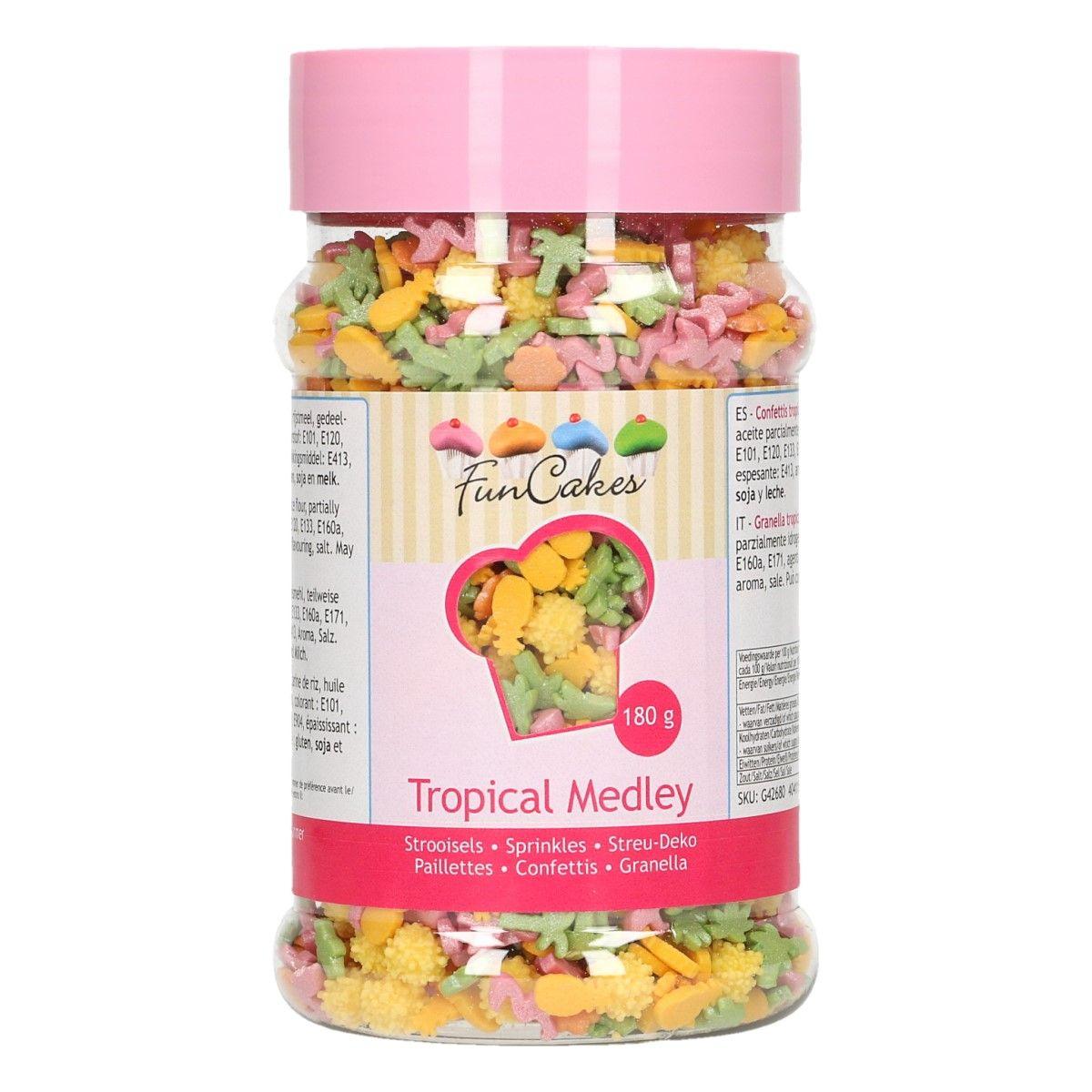 Mix de sprinkles -Tropical- 180g