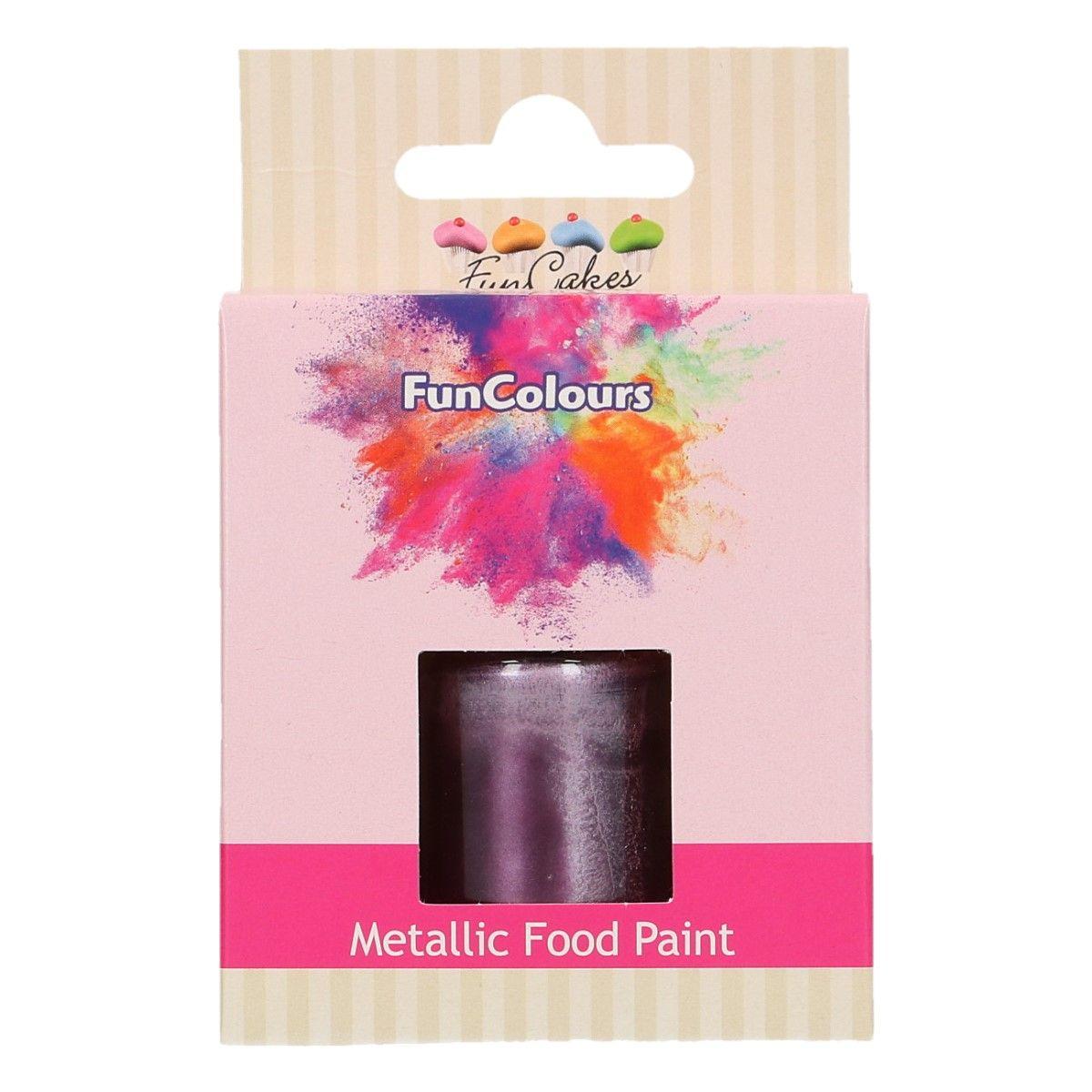 Peinture alimentaire 30 ml - Violet
