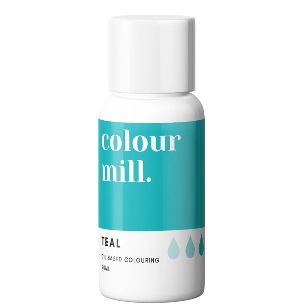 Colorant alimentaire Colour Mill - Teal - Choisir la Quantité