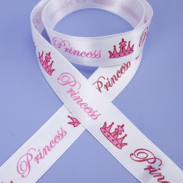 Ruban 1 M - Blanc (Princess)