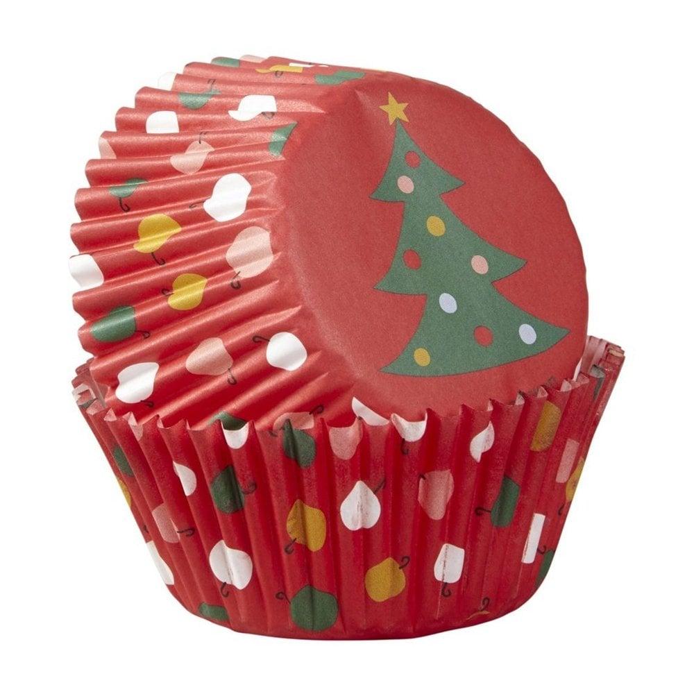 Caissete à Cupcake  Blanc  - lot de