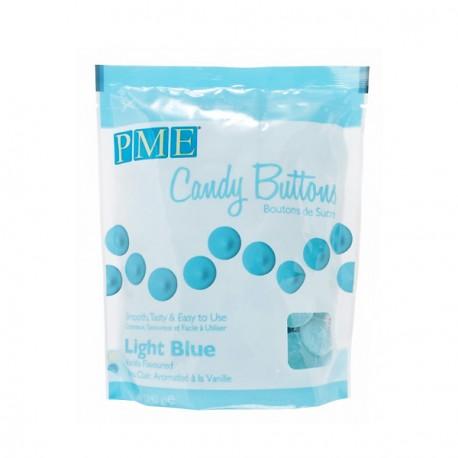 Candy Buttons 340 g - Bleu clair