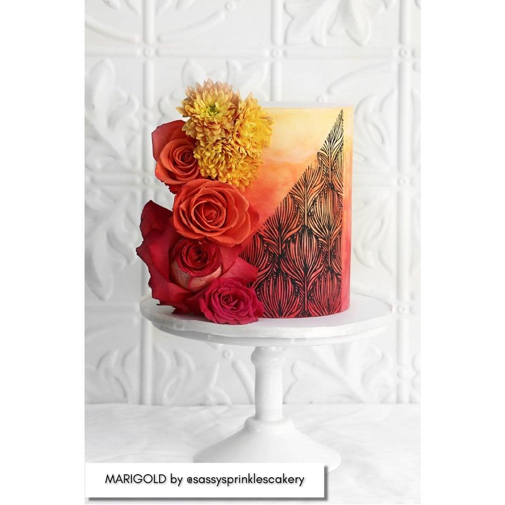 Pochoirs –Marigold