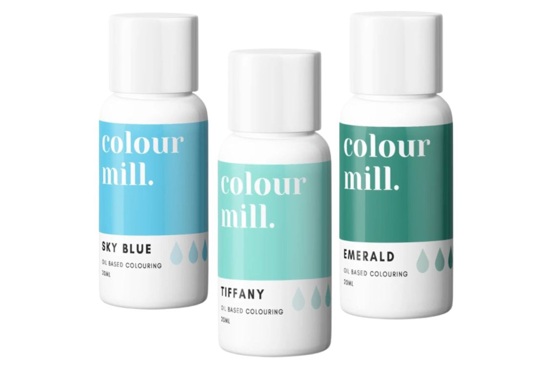 Colorant alimentaire Colour Mill - Océan - Lot de 3
