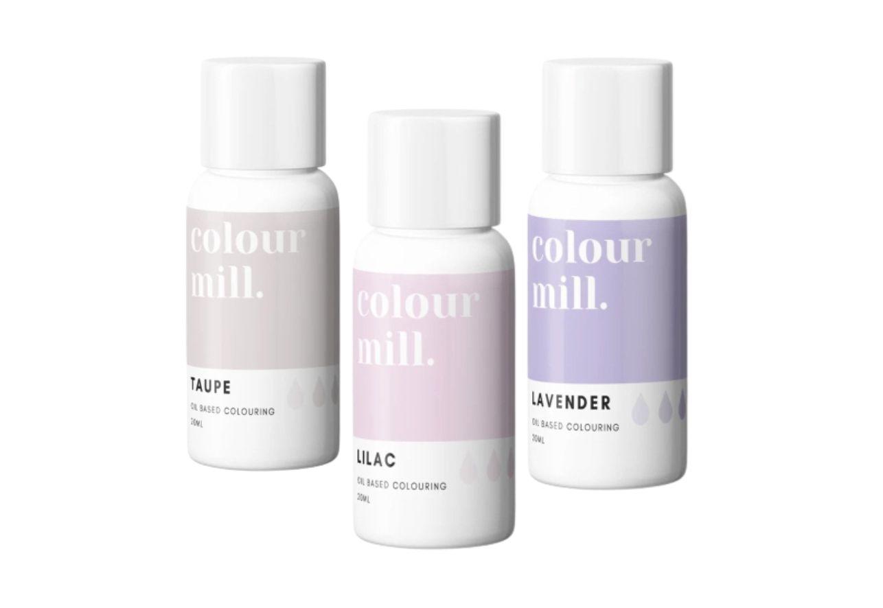 Colorant alimentaire Colour Mill - Pastel - Lot de 3
