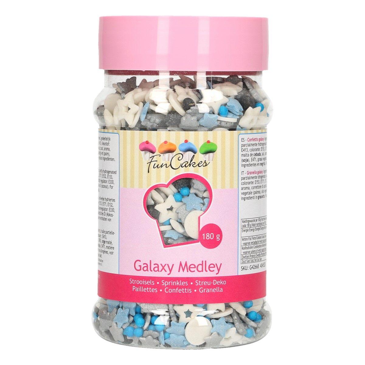 Mix de Sprinkles 180 g - Galaxy