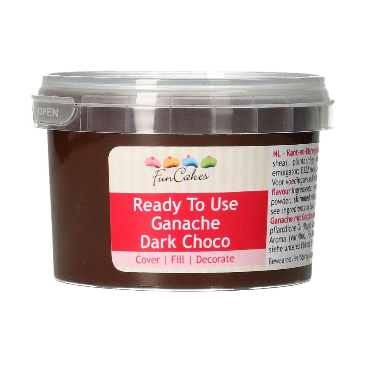 Ganache prête à l'emploi 260 g - Chocolat noir