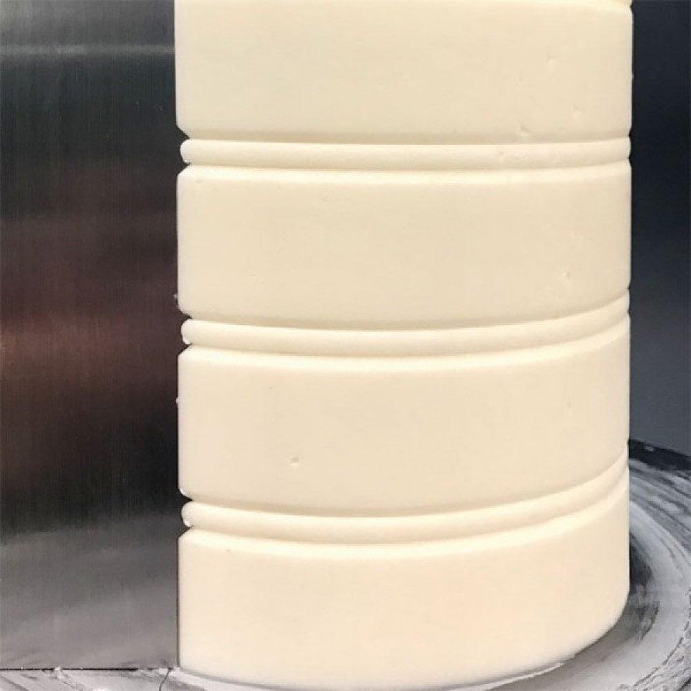 Lisseur à ganache en Métal - 22.8 X 7,6 cm