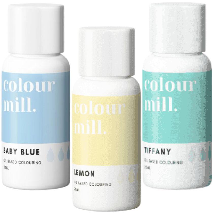 Colorant alimentaire Colour Mill - Baptême - Lot de 3