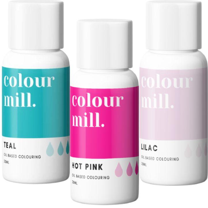 Colorant alimentaire Colour Mill - Blossom - Lot de 3