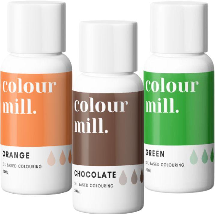 Colorant alimentaire Colour Mill - Automne - Lot de 3