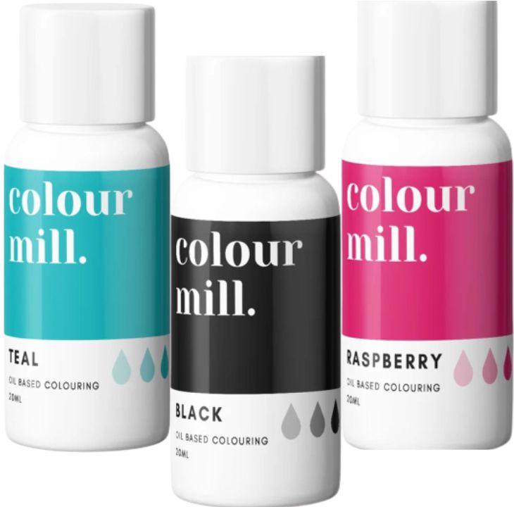 Colorant alimentaire Colour Mill - Moderne - Lot de 3