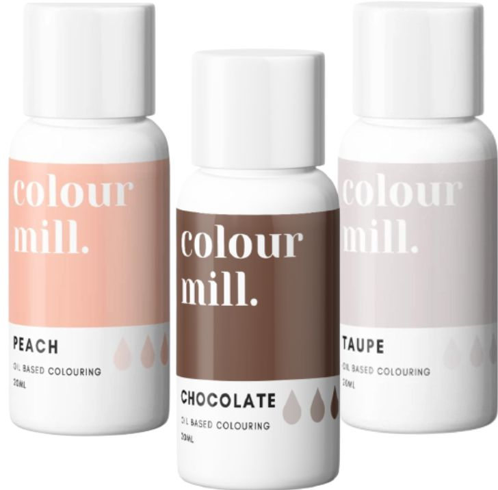 Colorant alimentaire Colour Mill - Skintone - Lot de 3