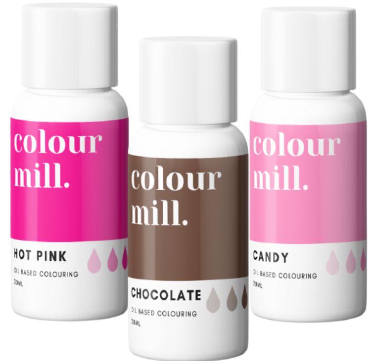 Colorant alimentaire Colour Mill - Valentin - Lot de 3