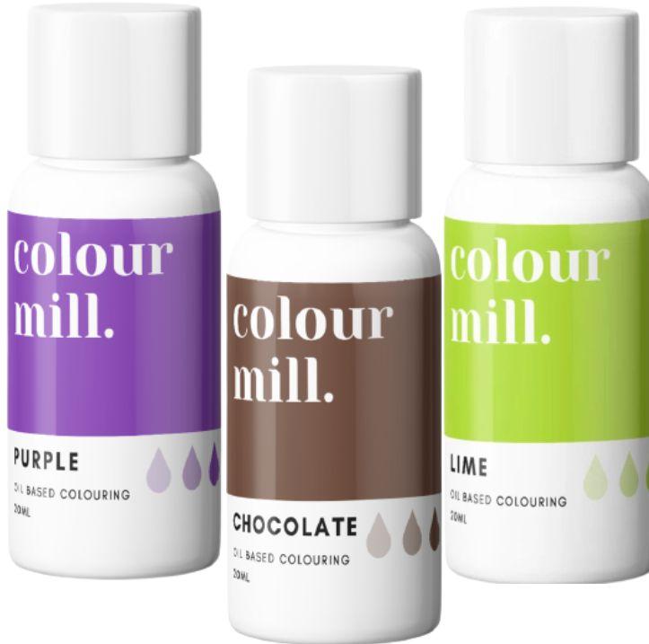 Colorant alimentaire Colour Mill - Witch Please - Lot de 3