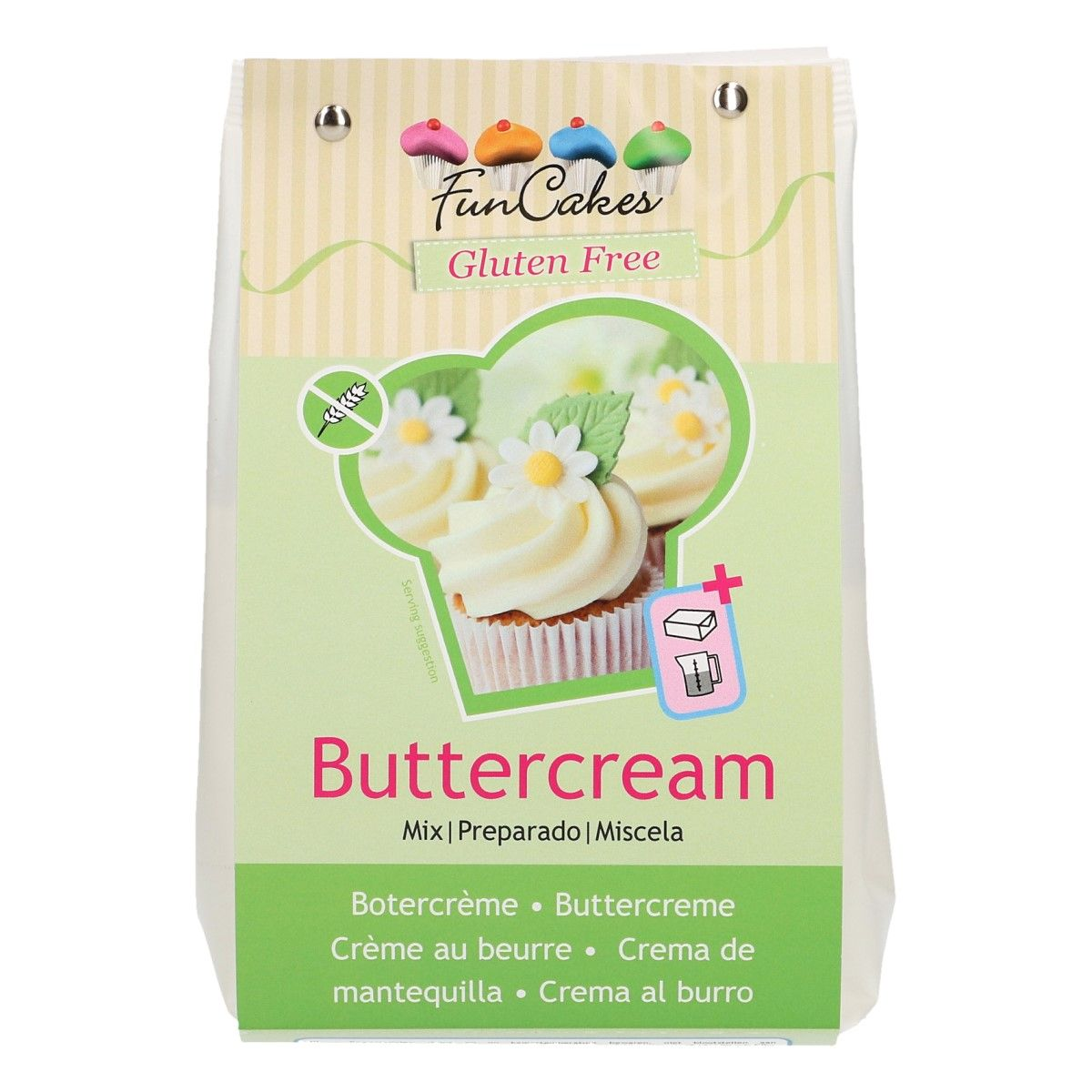 Préparation 500 g- Crème au beurre sans gluten