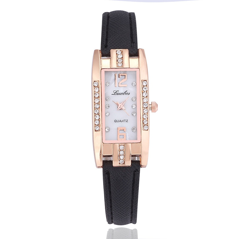 Women\'s watch with rhinestones