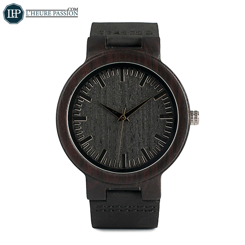 Luxury bamboo watch for men