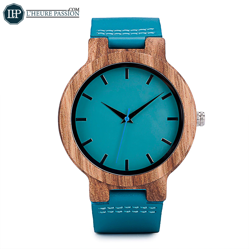 Bamboo casual watch