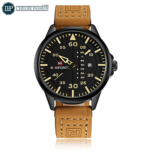 Men\'s high-end leather watch