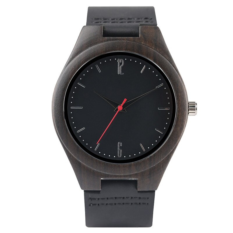 The nature bamboo watch is an accessory made from bamboo wood.