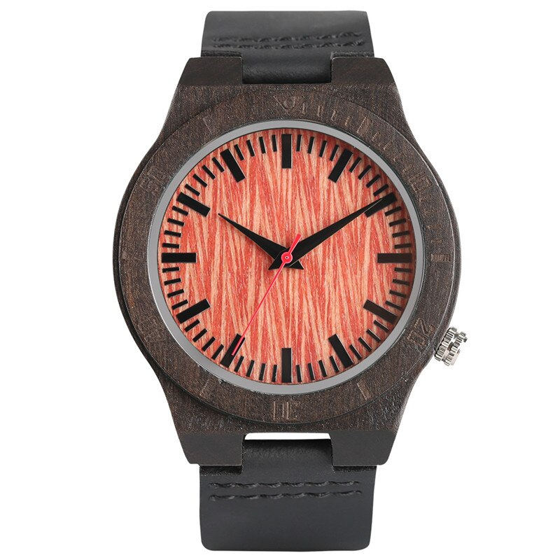 Wooden watch, a trendy product designed for men and women.