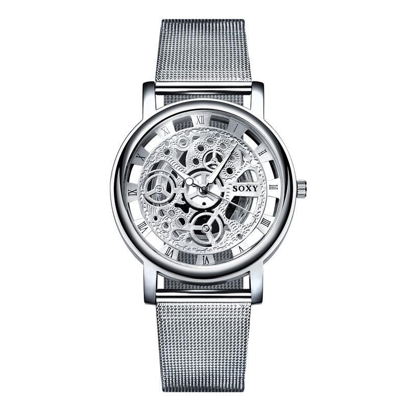 Men\'s skeleton watch