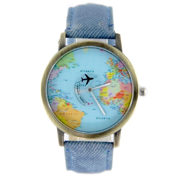 Travel Around The World Watch
