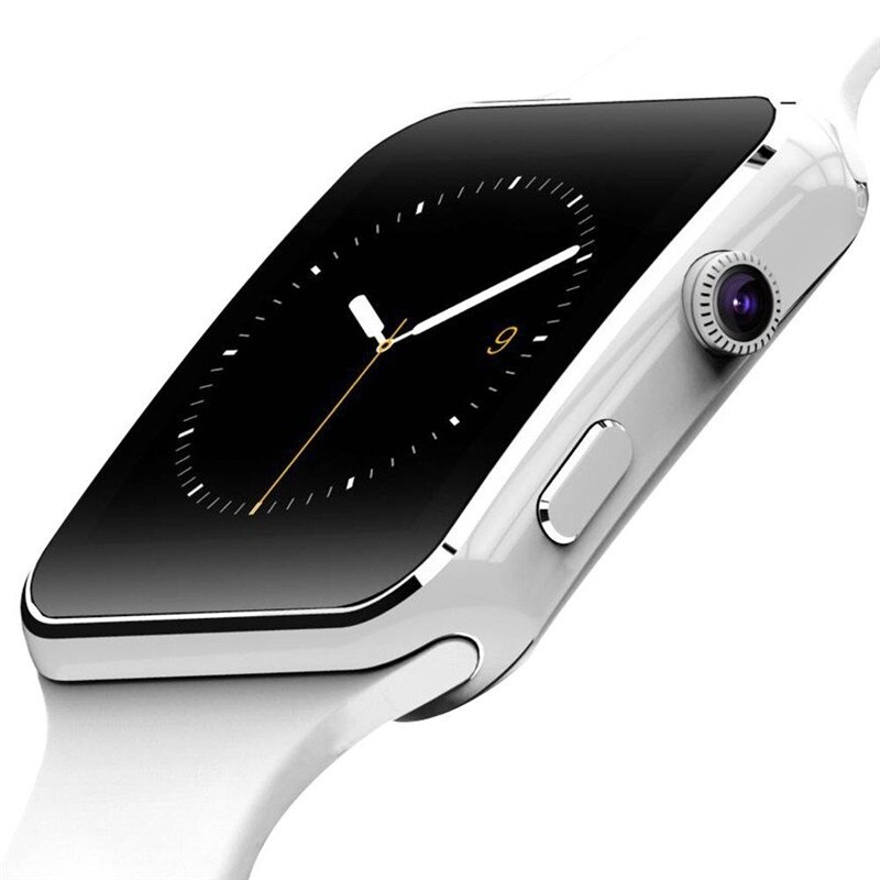 Connected watch for Apple iPhone IOS Android