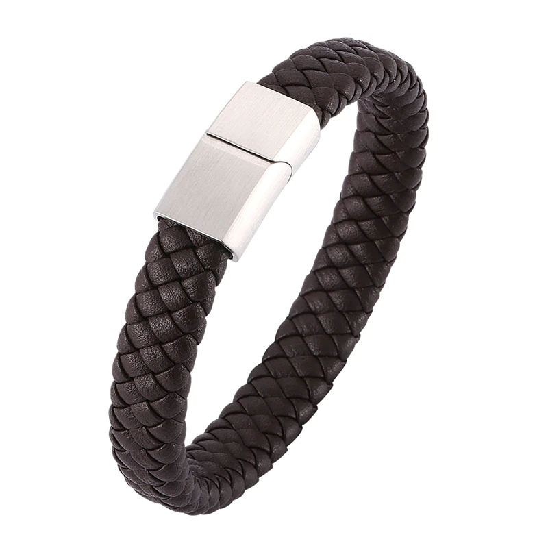 Men\'s Braided Leather Jewelry