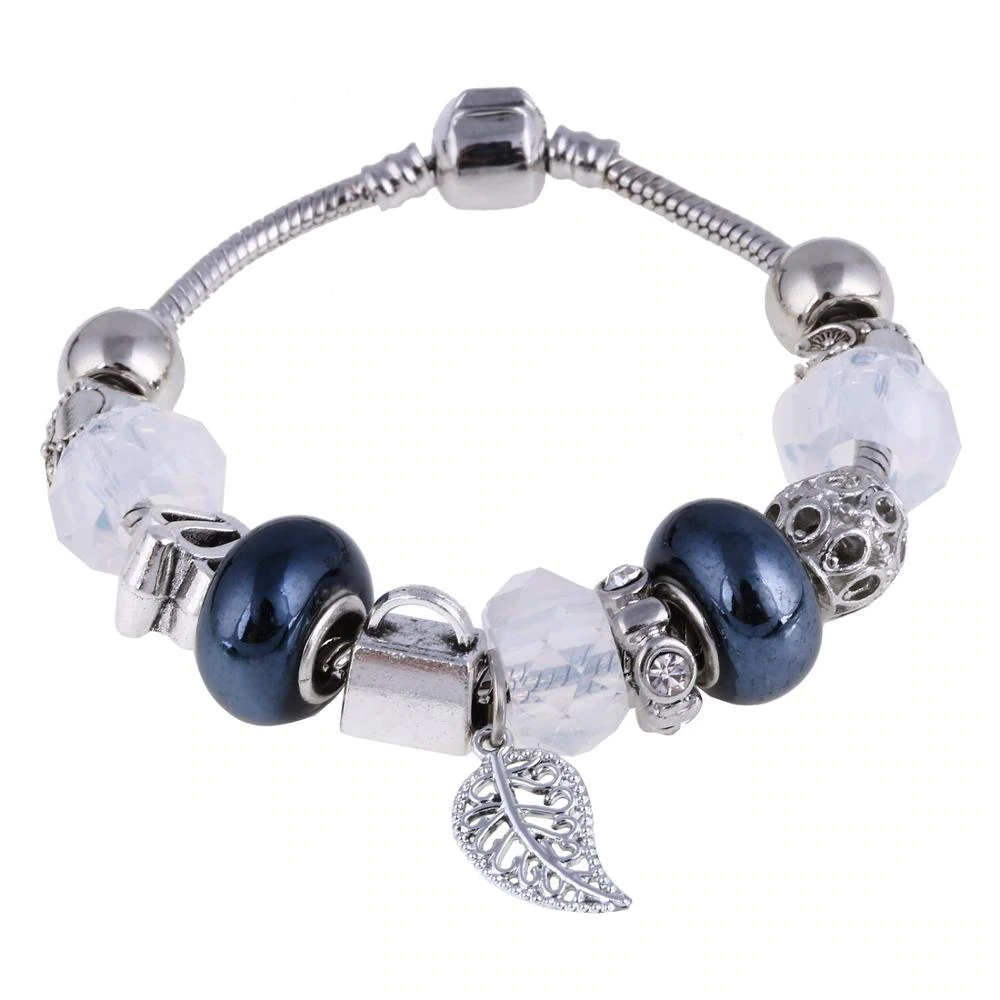 Silver Bracelets with pendants