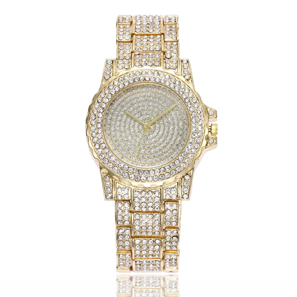 Strass wristwatch