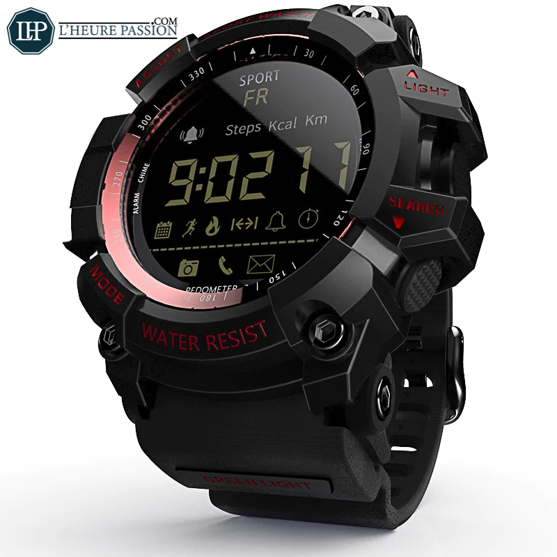 Intelligent digital men\'s watch